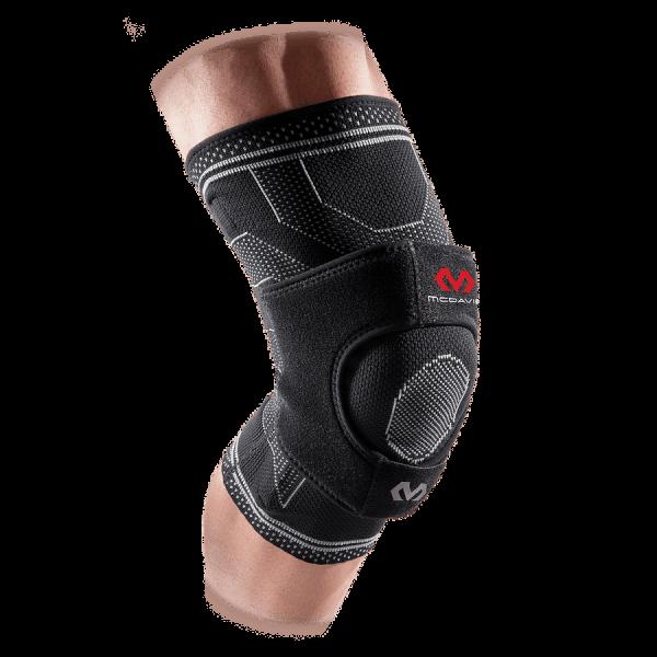 Elite Enginrd Elastic Knee Support w/Dual Wrap&Stays