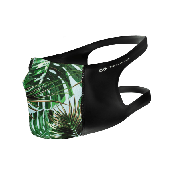 Sport Face Mask Print Tropical