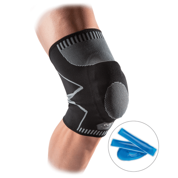 Recovery 4-way Knee Sleeve with custom cold pack
