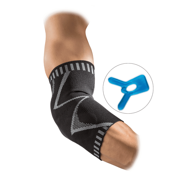 Recovery 4-way Elbow Sleeve with custom cold packs
