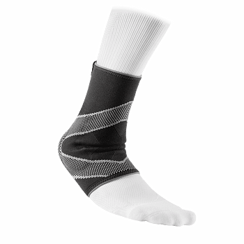 Ankle Sleeve/4 way elastic with gel buttresses