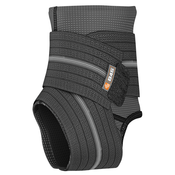 Ankle Sleeve w Compression Wrap Support