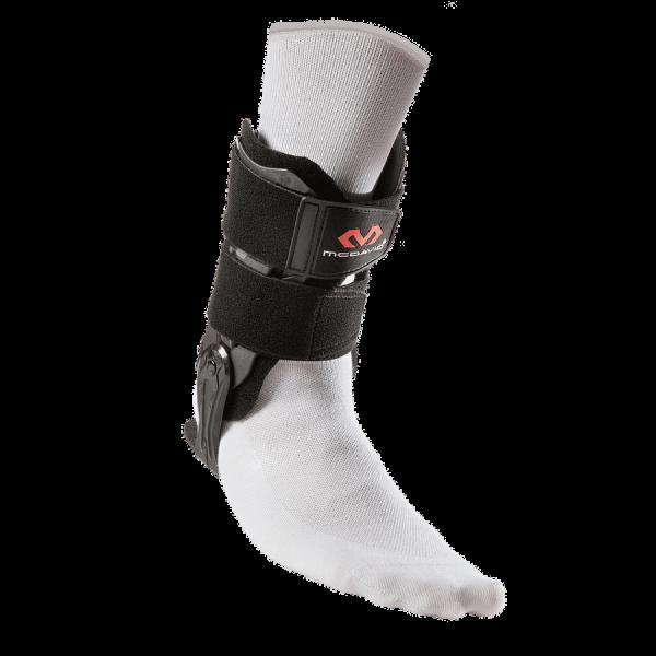 Ankle V Brace with flexible hinge