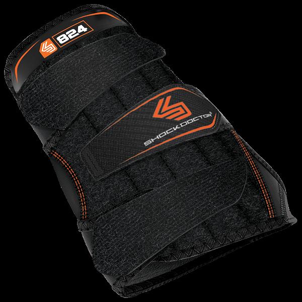 Wrist 3-strap Support Left Black XL